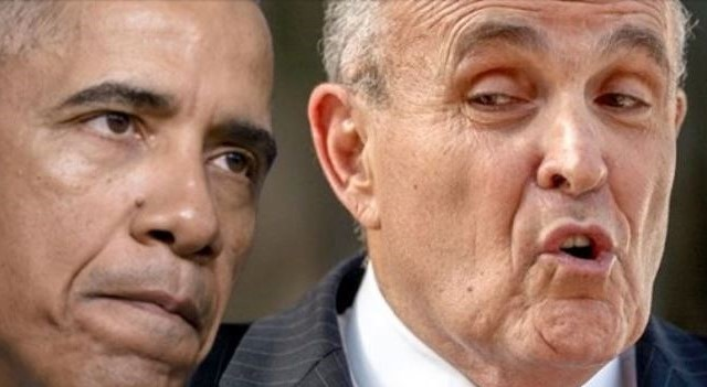 Rudy Giuliani Makes Huge Disclosure Indictments For Obama